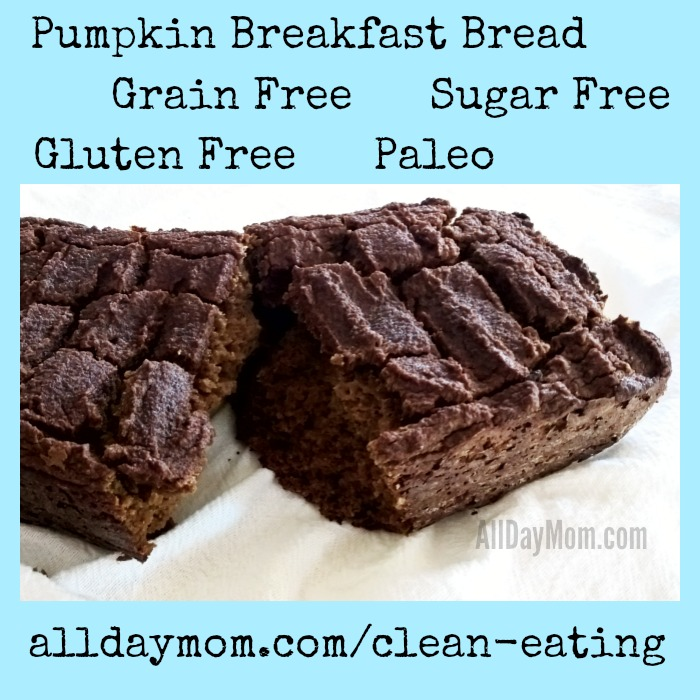 Paleo Pumpkin Bread Recipe: Sugar Free, Gluten Free, Grain Free! - All ...